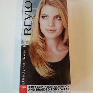 REVLON 2 IN 1 CLIP IN HAIR EXTENSION